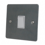 Flat Plate Pewter 20 Amp Switches